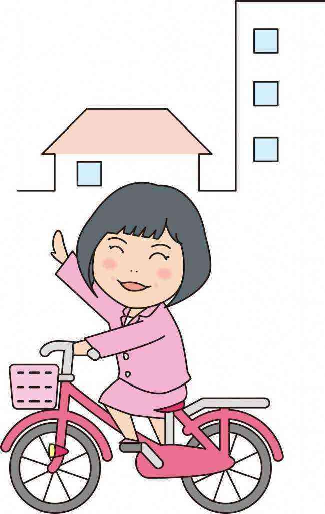 大倉あきこ自転車