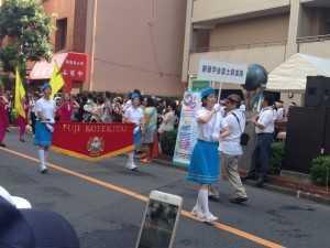 富士鼓笛隊パレード