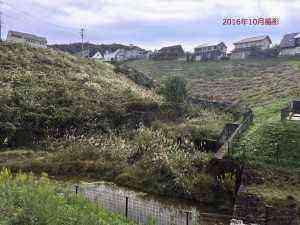 以前の砂防ダム