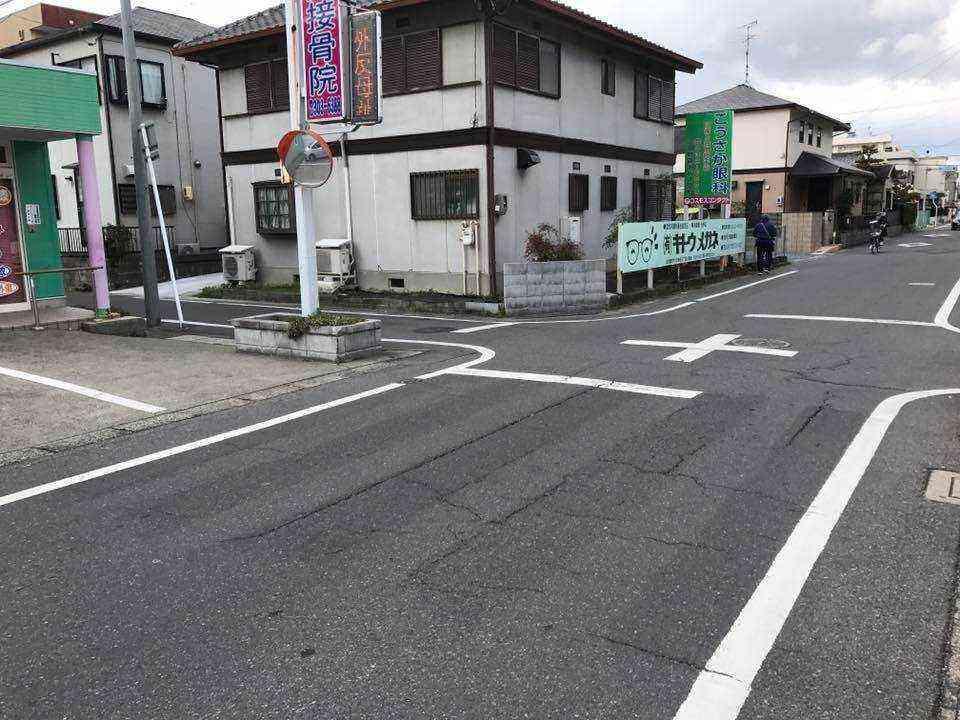 戸田5丁目地内の横断歩道について