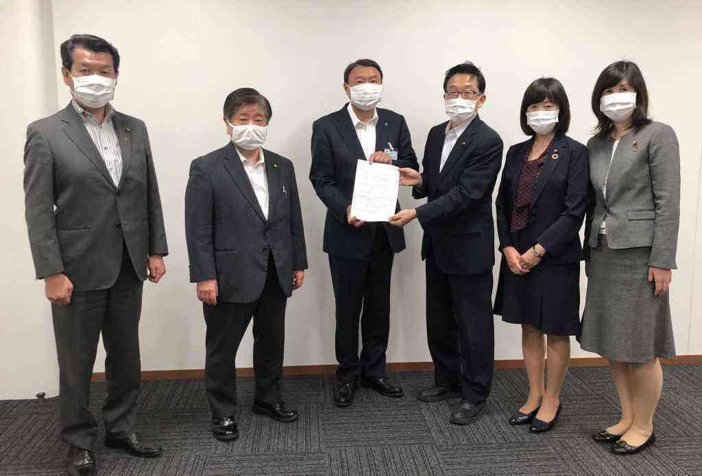 新型コロナウイルス感染症対策に関する緊急要望書を提出5月12日 ...