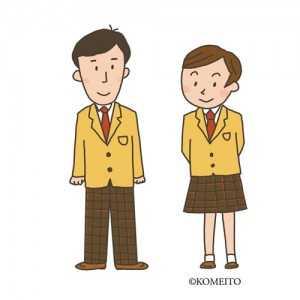 00747制服の高校生