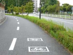 相模原北口自転車舗道2012
