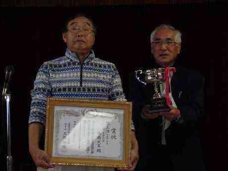 全国大会第3位入賞の高橋久吉さん