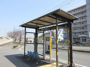 ⑦産業医大前バス停1