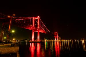 ⑩若戸大橋ライトアップ2