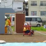 D級ポンプ活用排水作業