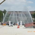 D級ポンプ放水訓練
