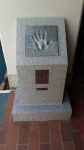 王貞治さん手形