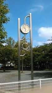 平井橋第一公園時計 (2)