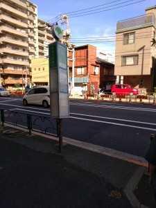 里22系統立花一丁目バス停 (1)