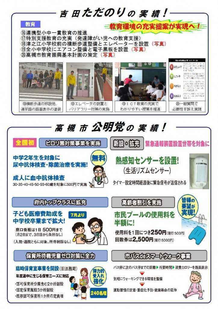 吉田ただのりタイムズ3期目挑戦号ピンク(3)