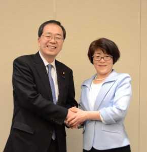 斎藤幹事長と (2)