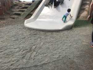 砂が入って安心