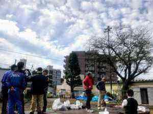 東逗子イルミネーション制作が市民有志によりスタート