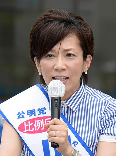 山本かなえ候補 現 山本 ひろし候補 現かわの義博候補 新新妻 ひでき候補 新 参院選 激闘する