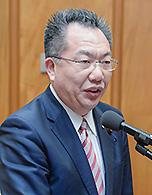 衆議院予算委員会第2分会で質疑する中川康洋衆議院議員