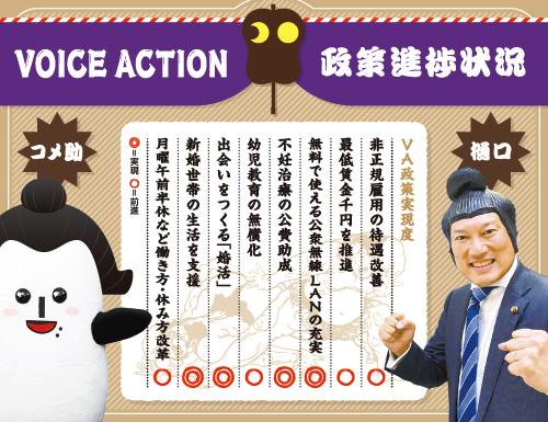 VOICE ACTION(ボイス・アクション)政策進捗状況