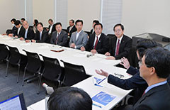Party countermeasures task force on the Fukushima disaster met on Oct. 22