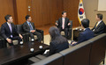 Yamaguchi spoke with South Korean Ambassador Lee Joon-guy in Tokyo on Dec. 7