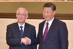Komeito's Inoue met with Chinese President Xi Jinping in Beijing on Dec. 29