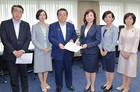Minister Noda accepts Komeito's proposal to end sexual harassment on Jun. 8