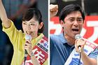 佐々木さやか候補(神奈川選挙区)、矢倉かつお候補(埼玉選挙区)