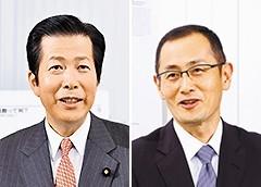山口代表と山中伸弥・京都大学iPS細胞研究所所長