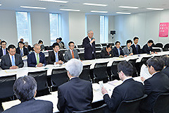 福島復興加速を議論した党合同会議=30日 衆院第2議員会館