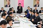 活発な議論が行われた党合同会議=23日 衆院第2議員会館