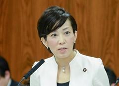 山本(香)さん=28日 参院内閣委