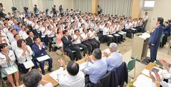 全議員が日常活動を強化し、政策実現に総力を挙げることを誓い合った全国県代表協議会 5日 公明会館