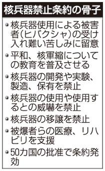核兵器禁止条約 | ニュース | 公...