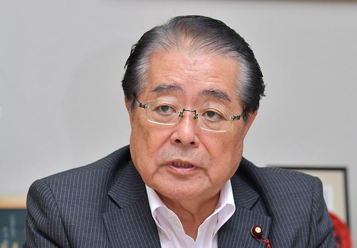 石田祝稔政務調査会長