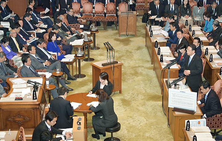 質問 委員 会 者 予算 参議院