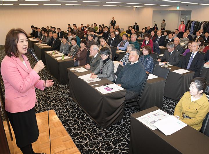 公明新聞は党勢拡大の要 活動の軌跡 参議院議員 公認会計士 竹谷とし子