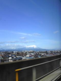 岩手県の岩手山(20091208)