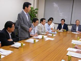 西日本豪雨対策本部