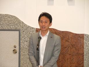 岡山NPOセンターの設立10周年記念式に参加