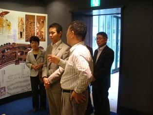 津山洋学資料館を訪問