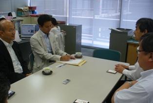 香川県消費生活センターで職員と意見交換